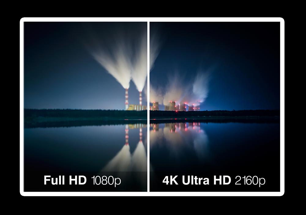 Nouveau: tournage en 4K !