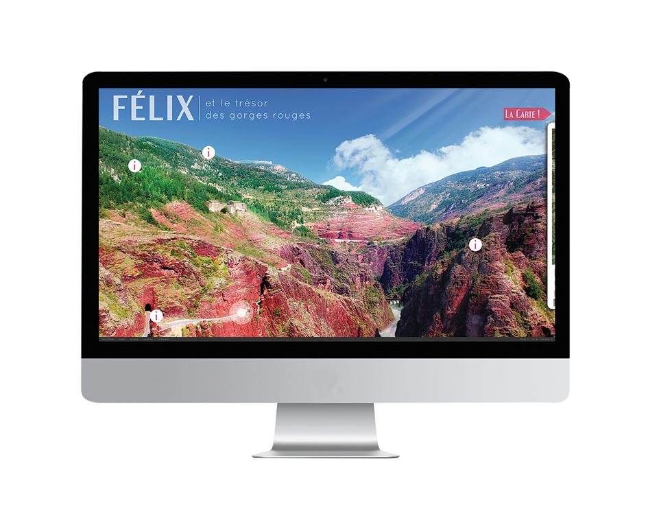 Félix et le trésor des Gorges rouges